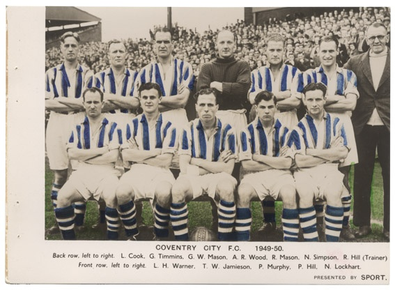 Coventry City FC 1949-50
