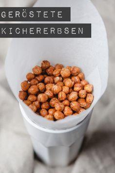 geröstete Kichererbsen - www.kuechenchaotin.de