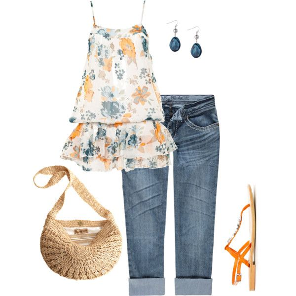 Cute for summer!Style, Simplicity, Closets, Simply Summer, Polyvore, Yellow Cardigans, Romigr99, Spring Outfits, Create