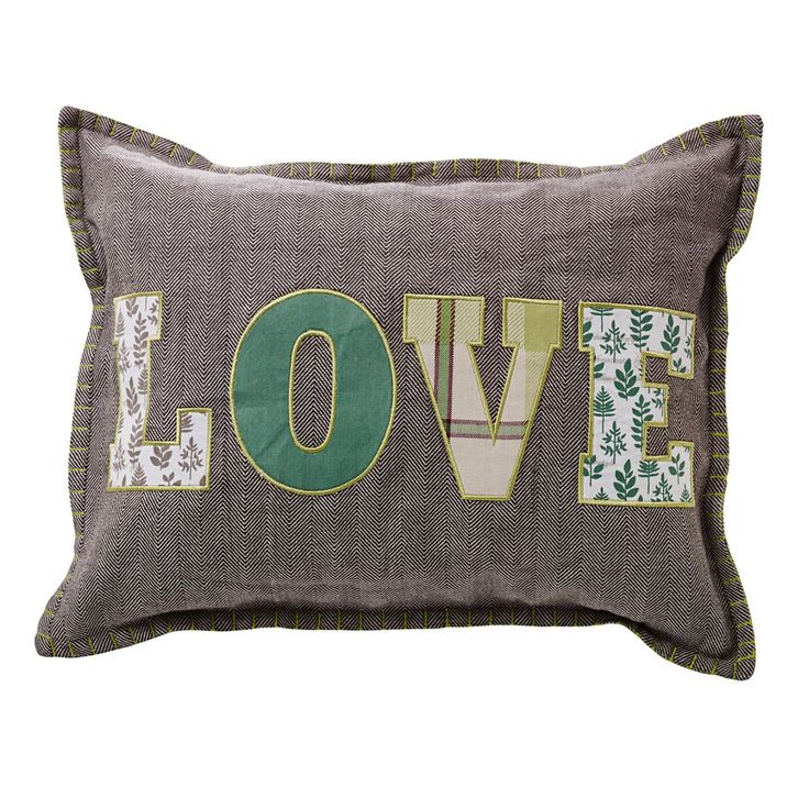 Wilko Cushion 33x43cm Love Soft furnishings, Cushions