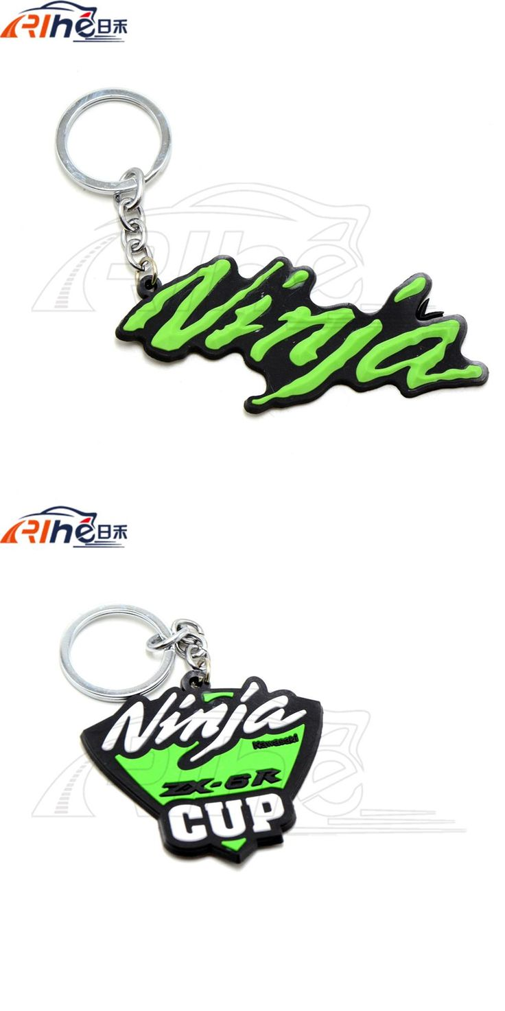 [Visit to Buy] motorcycle 3D soft rubber motorcycle key ring keychain For Kawasaki NINJA 250R 300 ER6 650 650R 1000 ZX6 ZX7 ZX9 ZX10 ZX12 ZX14 #Advertisement