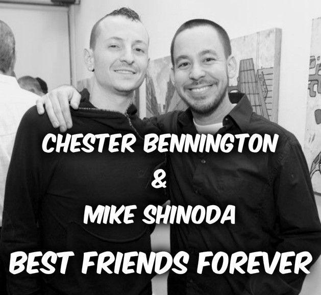 "1,413 Me gusta, 14 comentarios - Linkin Park Magyarország (@linkinparkhun) en Instagram: ""#linkinpark #chesterbennington #mikeshinoda #bestfriends"""