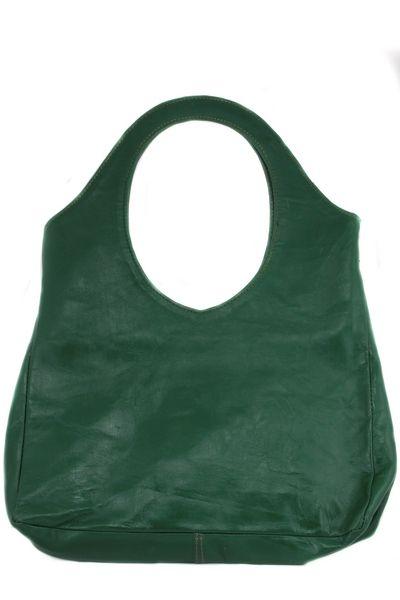 Groene handtas / schoudertas Asmae de luxe