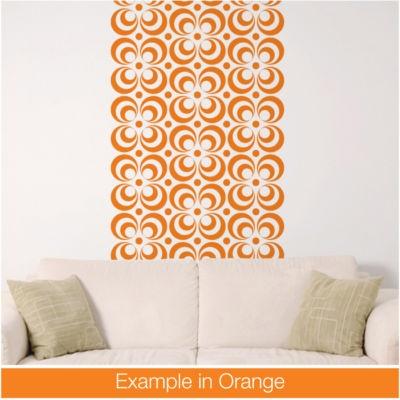 Retro Wallpaper Pattern 2 Home Decor Bedroom Living Room Kitchen Decal