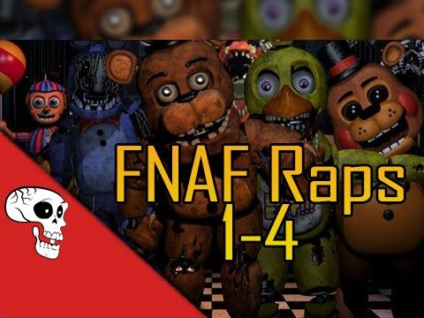 Five Nights at Freddy's Raps (1-4) by JT Machinima [Updated] - YouTube