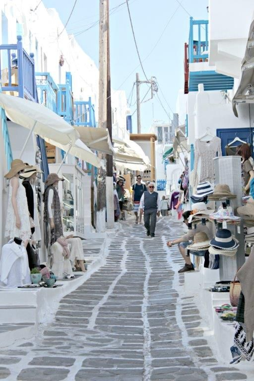 Mykonos is one of the most visited and iconic of the Greek Islands. Great beaches, reastaurants, traditional architecture and a vibrant night life make it a favorite. www.compassandfork.com