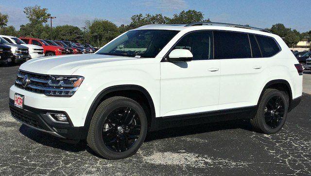 Image Result For White Volkswagen Atlas With Black Rims 7 Passenger Vehicles Volkswagen Passenger Vehicle