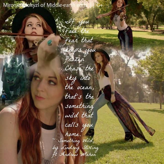 Lindsey Stirling Something Wild lyrics. #myedit