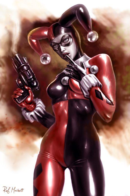 Harley Quinn 014 by =RaffaeleMarinetti on deviantART