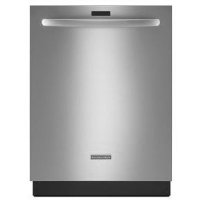 24'' 6-Cycle/7-Option Dishwasher, Architect® Series II (KDTE704DSS Stainless Steel)  