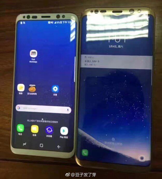 Samsung Galaxy S8 und Galaxy S8: Neue Bilder und erster Werbespot