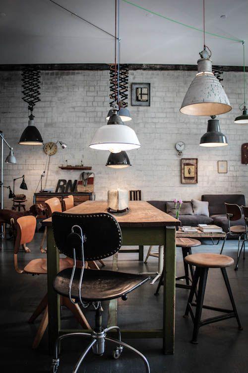 meubles vintage et industriels