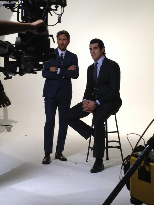Henrik Lundqvist and Brian Boyle, New York Rangers: New York Ranger
