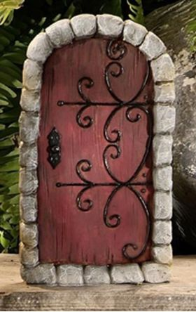 Fairy Door Red