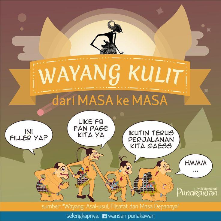 FB: Warisan Punakawan Instagram: @warisanpunakawan Blog: warisanpunakawan.wordpress.com Twitter: @warispunakawan  #warisanpunakawan #wayang #wayangkulit #punakawan #culture #heritage #infographic #history