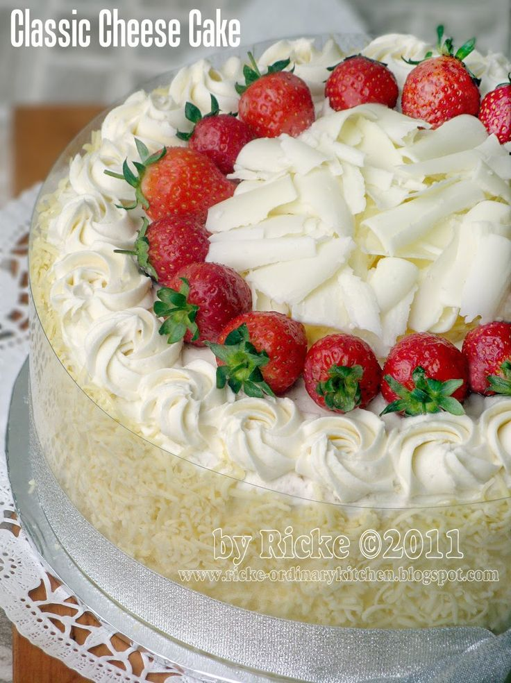 Just My Ordinary Kitchen...: CLASSIC CHEESY CAKE (CHEESE CAKE ALA INDONESIA)