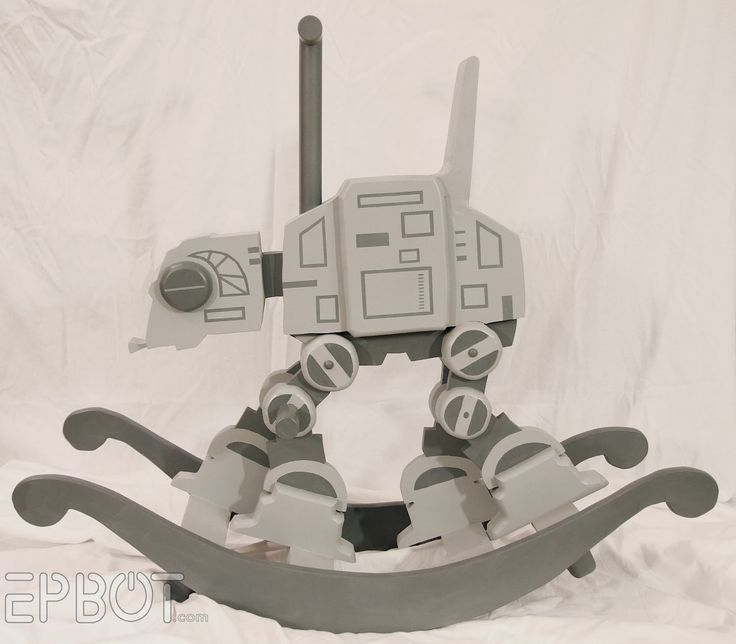 AT-AT walker rocking horse built for little Sith lords via @CNET