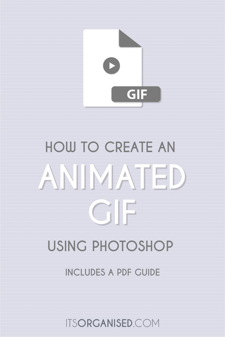 Learn how to create an Animated GIF file using Adobe Photoshop. Includes PDF Guide download.