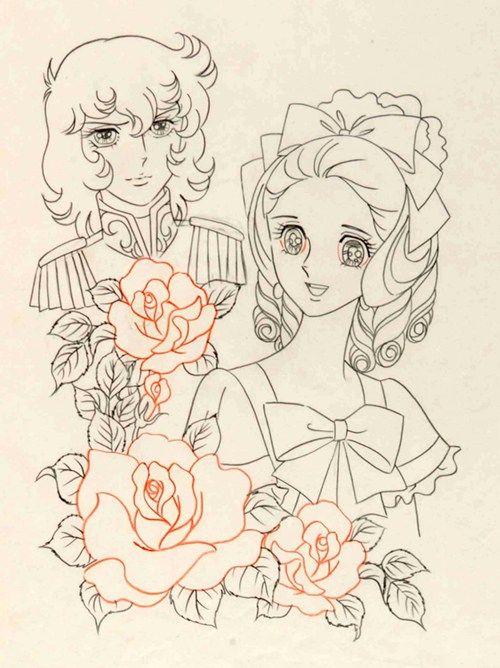 Lady Oscar sketch