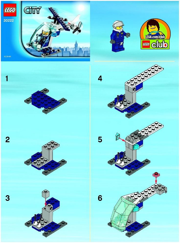 Missing instructions??  LEGO Instructions from 2013