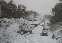 1928 début de la construction de l'autoroute A13 - Eiffage TP