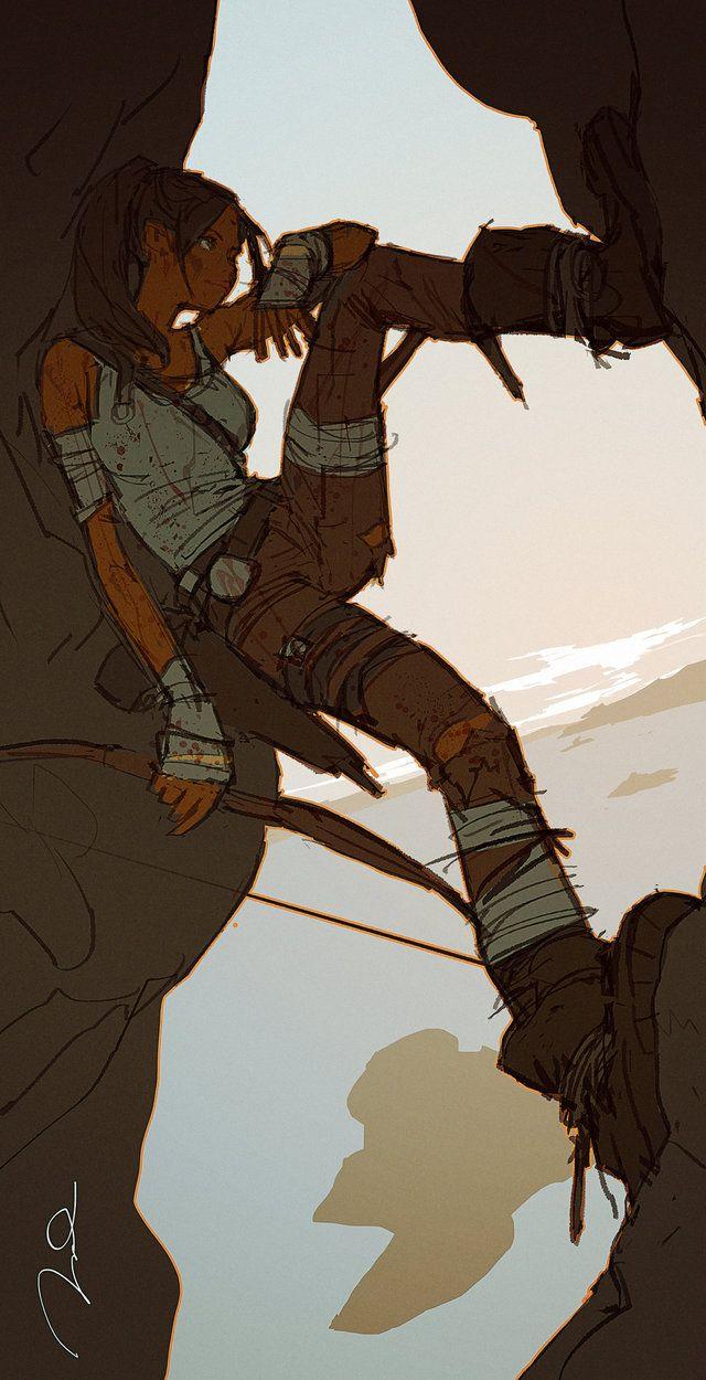 Lara Croft contest by ~AldgerRelpa [dA]