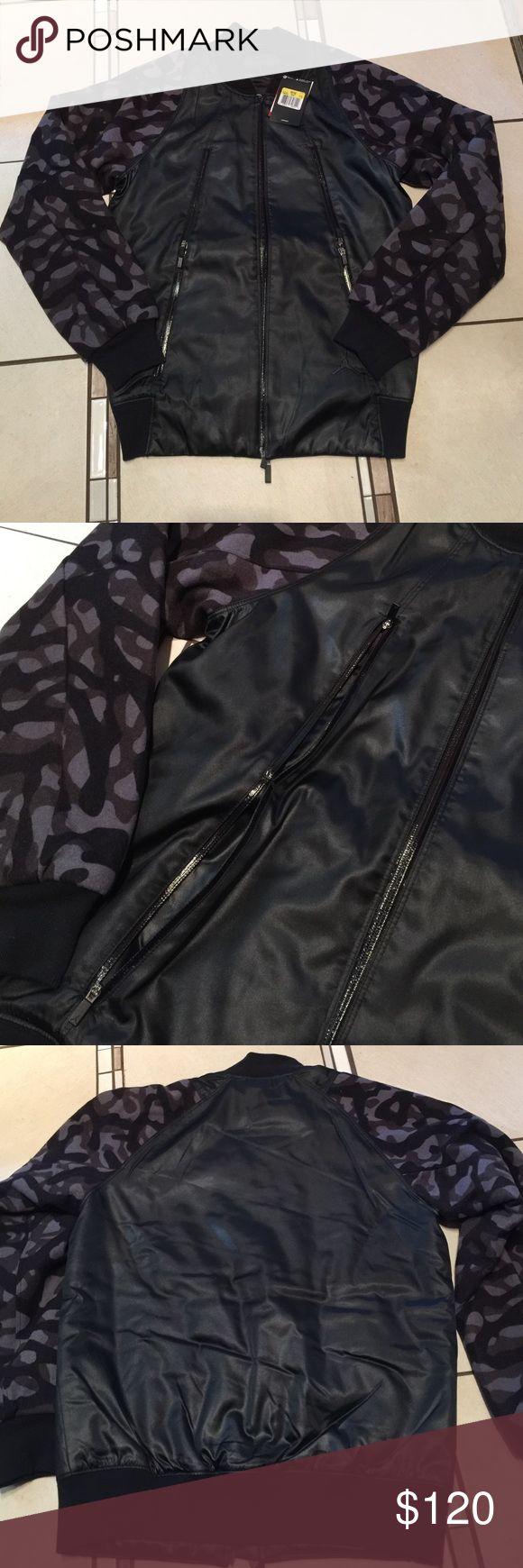Nike Air Jordan jacket NWT Nike Air Jordan flight member jacket Nike Jackets & Coats