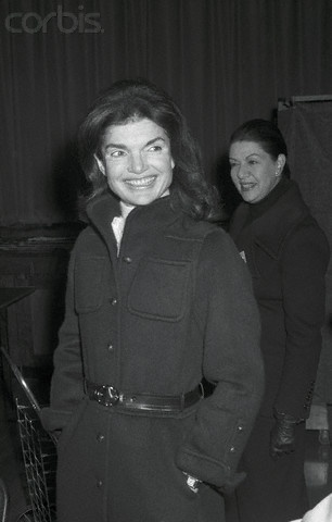 Jacqueline Kennedy Onassis, election day 1972