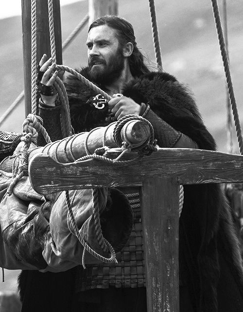 Rollo - Clive Standen in Vikings, set in the 9th century (TV series).