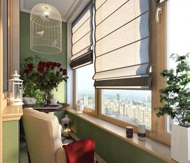 Уютный балкон - Дизайн интерьеров | Идеи вашего дома | Lodgers