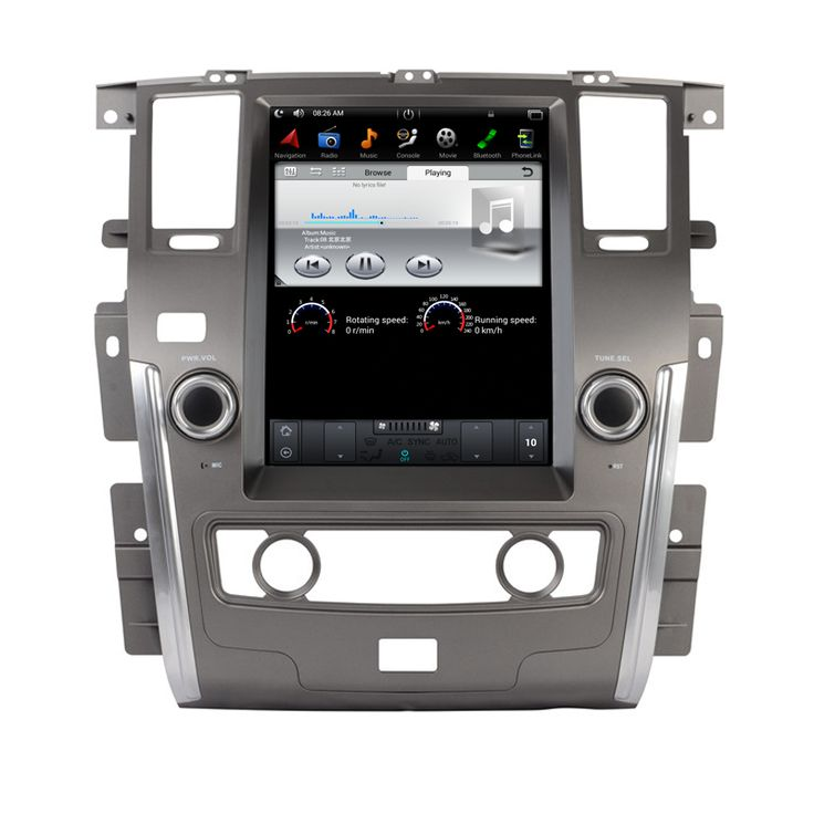 NAVITOPIA 12.1inch Quad Core Vertical Screen Android 6.0 Car GPS Navigation For Nissan Patrol 2010- Autoradio Multimedia,NO DVD //Price: $1020.59 & FREE Shipping //     #navigation