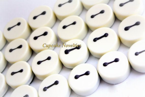 2 Dozen Big Hero 6 Six Birthday Party Favors by CupcakeNovelties