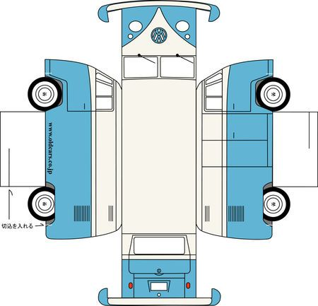 Printable VW bus