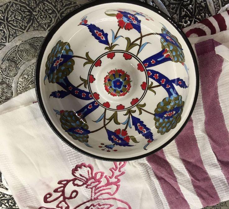 TURKISH CERAMIC HAMMAM BOWL-SPA BOWL, 002