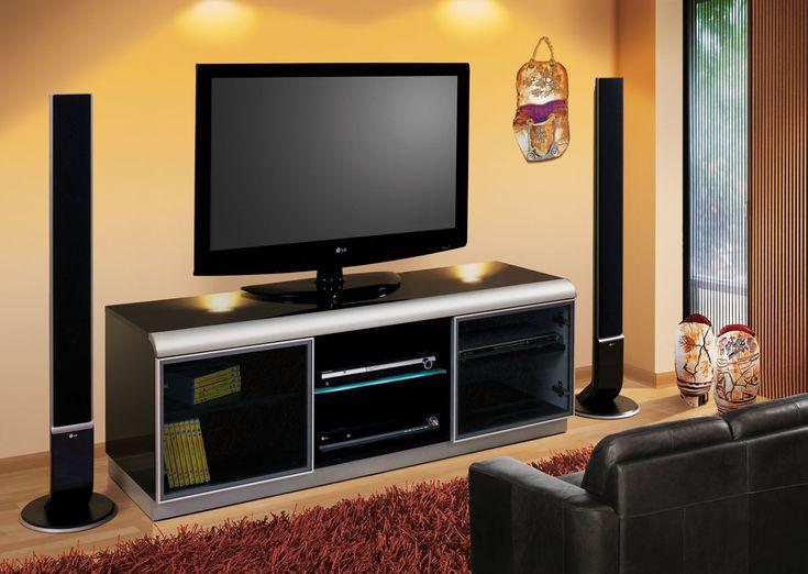 TV Meubel Denver Het Tv Is Een Echte Ruimtewinner In Huis Dressoir Heeft Veel Opbergruimte En Oogt Evengoed Compact