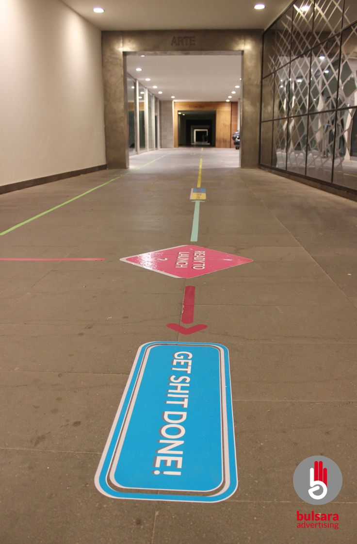 sign, floor, signage, startup, unconventional, follow