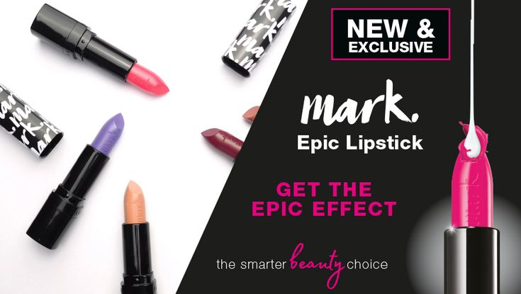 We're excited to share our NEW mark. Epic Lipstick TV Advert
