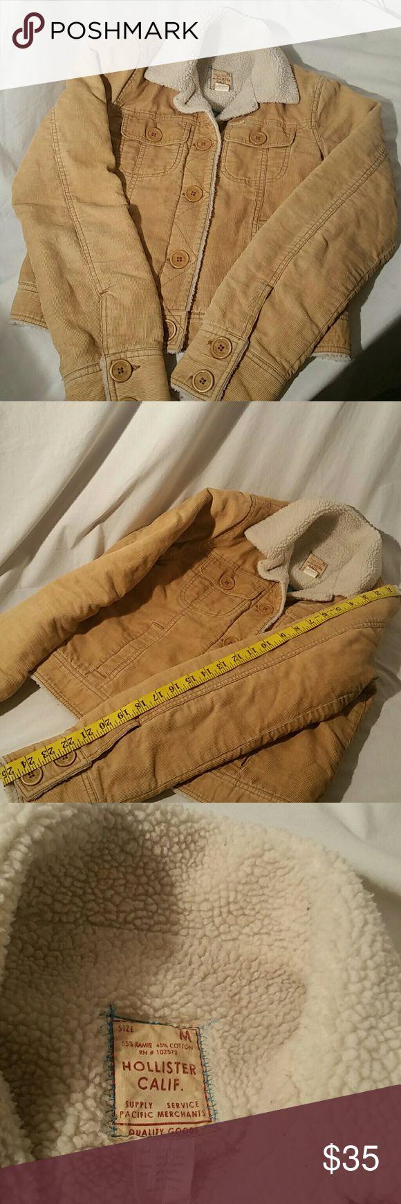 Hollister Jacket Hollister Jacket, size medium. Made of 55% Ramie  and 45% Cotton. Great Fall Jacket. Hollister Jackets & Coats