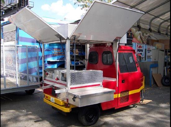 Golf Cart Food Truck