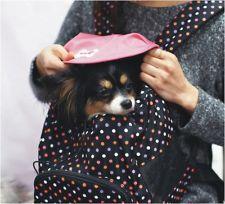 kawaii pet dog cat puppy carrier bag tote purse carriers H4861 ~BLACK