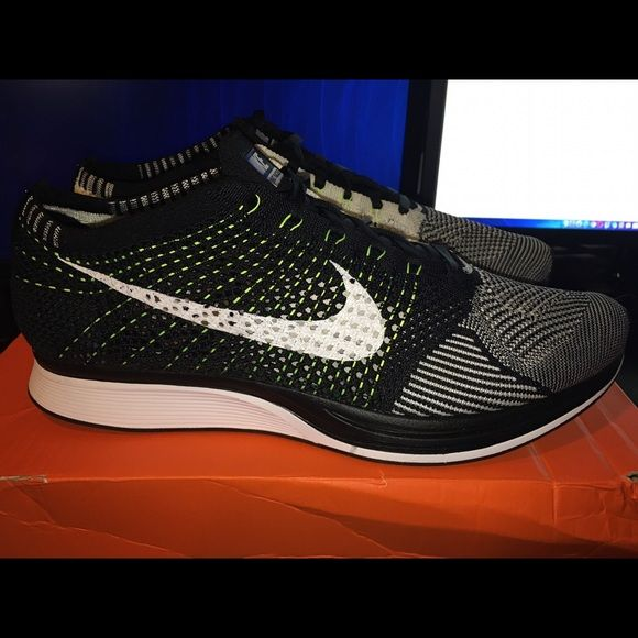 Nike Flyknit Racer Oreo Brand New Authentic (Receipt & Box) Cash or PayPal  Nike