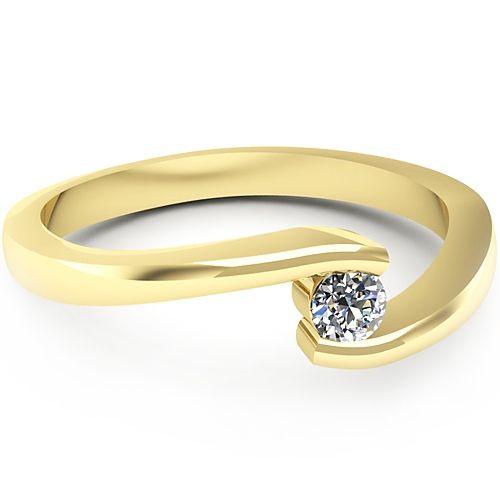 Inel logodna L38GDI cu diamant