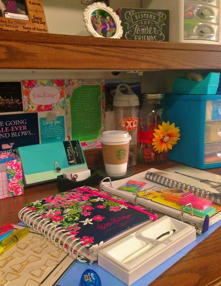 School Supplies For Spring Semester · College Desk OrganizationCollege Dorm  ... Part 90