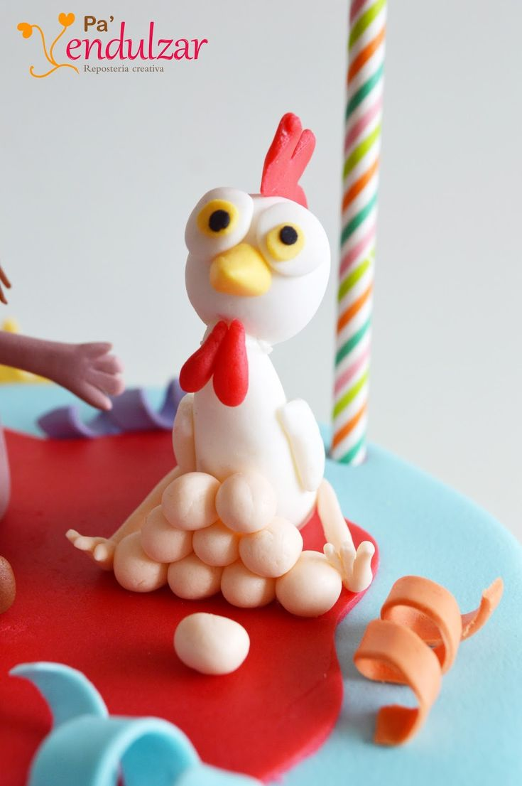 Pa' endulzar: Tarta infantil: los animalitos de la granja
