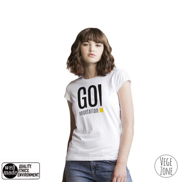 GO vegetarian! http://vegezone.pl/15-koszulki