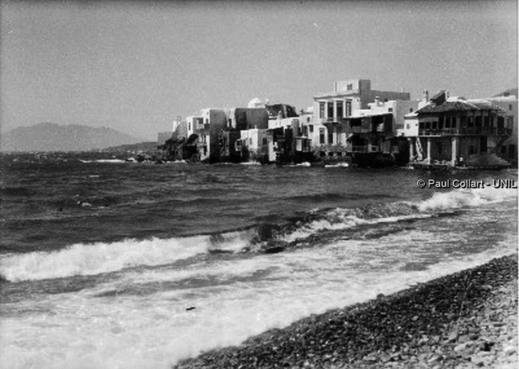 Μύκονος, η μικρή Βενετία.  Paul Collart 1926 έως 1938. Πηγή: Liza's Photographic Archive of Greece - Φωτογραφικά άλμπουμ της Ελλάδας