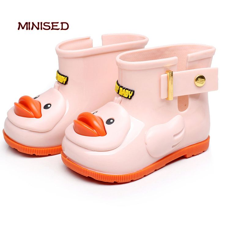==> [Free Shipping] Buy Best MINISED Brand Children Shoes Infant Rain Boots Girls Shoes Cartoon Baby Rubber Boots Jelly Color Rain Boots Waterproof Kids Shoe Online with LOWEST Price | 32810151047