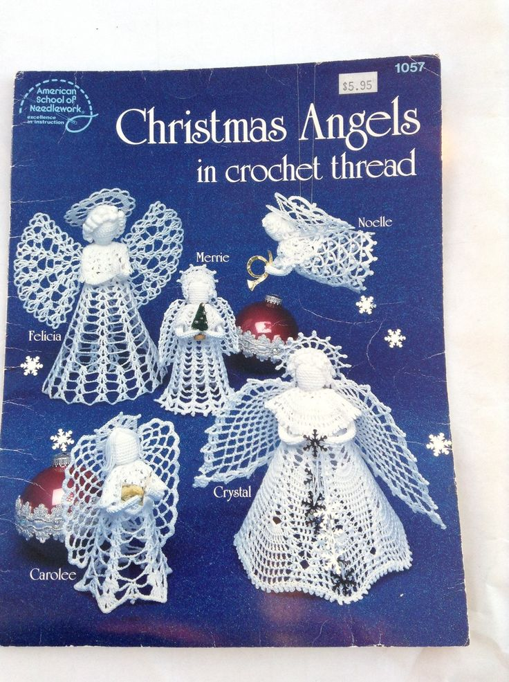 A personal favorite from my Etsy shop https://www.etsy.com/ca/listing/253600606/christmas-angels-in-crochet-thread