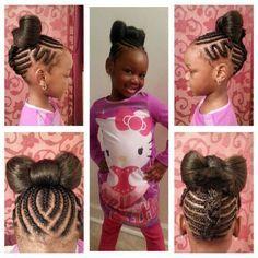 Awe Inspiring 1000 Images About Kids Braids Hairsytles On Pinterest African Short Hairstyles Gunalazisus