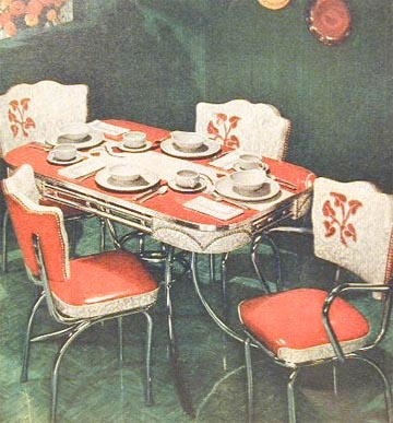 Kitchen Table Set,,1952